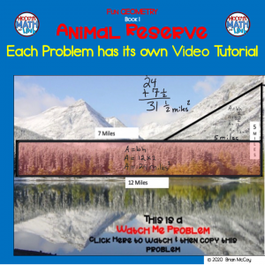 Fun Geometry: Animal Reserve #math homework help #math problems with video tutorials #math online help