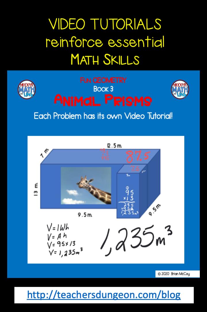 Fun Geometry: Animal Prisms
