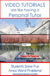 Trapezoid Area Formula and other Area Formulas