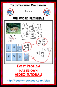 How to Add Fractions that are Mixed Numbers (like 2 & 3/4 + 3 & 5/6 )